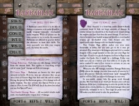 5th Level Character Cards