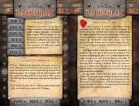 4th Level Character Cards